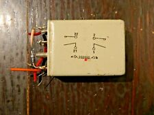 Vintage Electromagnetic Relay 5945-99-012-3888 12v Military Aircraft
