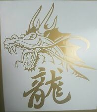 Chinese Dragon -Gold std - Car,Van,Window,Laptop,Vinyl graphics/sticker/Decal