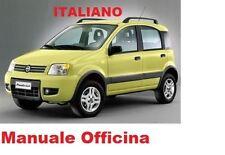 FIAT NUOVA PANDA Seconda Serie MK2 (169) Manuale Officina ITALIANO (2003/2013)