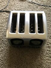 GE 4-Slice Stainless Steel Toaster