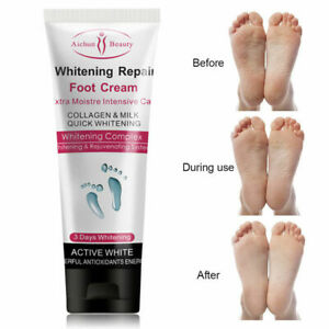 100g Foot Care Whitening Cream Cracked Scrub Treatment Exfoliator
