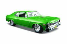 1970 CHEVY NOVA SS COUPE HARDTOP MAISTO 31262GN 1/24 scale DIECAST CAR