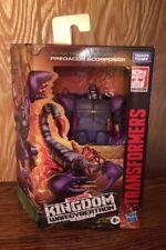 Transformers Kingdom War for Cybertron PREDACON SCORPINOK Deluxe Class WFC-K23