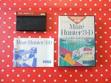 Maze Hunter 3-D Sega Scope Sega Master System in OVP mit Anleitung
