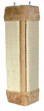 Beige Scratching Board for Wall Corners Hanging Cat Scratch Post with Catnip