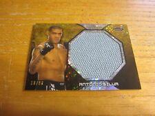 Antonio Silva 2013 Finest UFC Jumbo Fight Mat Relics Refractors Gold #FFMASI MMA