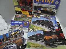 8 K-LineElectric Train Catalogs  2004 2007