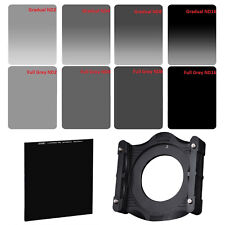 ZOMEI 4X6in.ND2 ND4 ND8 ND16 Filter Kit+Holder+77mm Adapter Ring+ND1000 Filter
