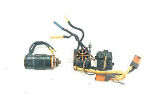 Spektrum Firma 150 Amp Smart Brushless ESC SPMXSE150 w/ 1900kv Motor Combo Used