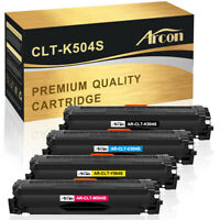 4 Pack CLT-K504S 504 Toner Cartridge Set for Samsung Sl-C1860FW Sl-C1810W C1810