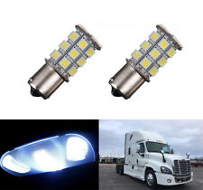 2X  White Interior 1156 LED 27-Smd Dome Cab Light Bulb For Freightliner Cascadia