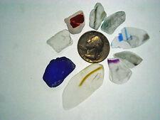 Assorted Surf Tumbled Sea Glass Lot 2051