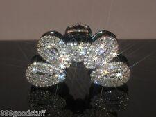 New Gorgeous Hair Clip Claw w Shinny Swarovski Crystals Jewelry Hair Accessories