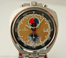 NEAR MINT NOS OMEGA BULLHEAD SEAMASTER CHRONOGRAPH v. 1969 Cal. 930 + BOX ! TOP