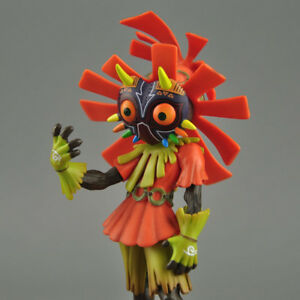 New The Legend Of Zelda Majora's Mask 3D SKULL KID Collectible Figure Toy