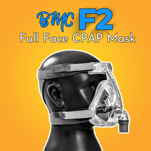 Complete BMC F2 Full Face CPAP Mask - AU Seller - Free Post 3 Sizes