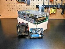 CNC Autonomous Fan Controller & Dual Rail (48v & 5v) Power Supply & 48v Fan