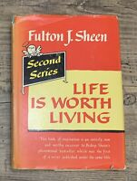 Life is Worth Living Second Series Fulton J Sheen Catholic 1954 HC Vintage