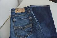 Diesel Larkee Herren regular straight Jeans Hose W30 L32 stonewash blauused ad21