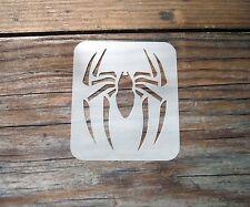 Spider Face Painting Stencil 7cm x 6cm 190micron Washable Reusable Mylar