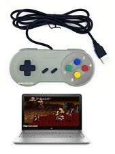Cablato SNES Super NES GAMING USB CONTROLLER GAMEPAD PER PC, notebook, Notebook
