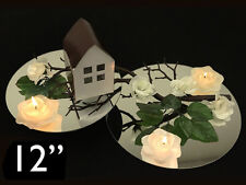 "36 pcs Round 12"" MIRRORS Wedding Centerpieces Wholesale"