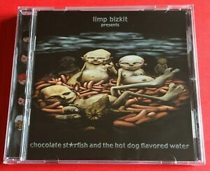 Limp Bizkit Chocolate Starfish And The Hot Dog Flavored Water CD Free Post