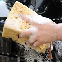 Autowaschschwamm Praktischer Autowaschreiniger Weiches Reinigungsschwammgelb