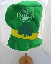 Hoosier Lottery St Patrick's Day Irish Ireland Leprechaun Costume Green Top Hat