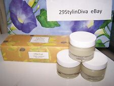 NEW Thymes Olive Leaf Travel Candles Set of 3   Retired   HTF!