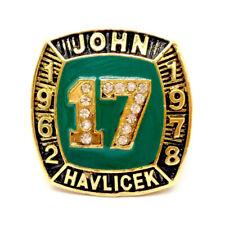 John Havlicek 1962-1978 NBA BOSTON CELTIC  Championship rings