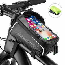 ROCKBROS Rahmentasche Fahrrad Tasche Oberrohrtasche 6,0'' Handytasche DHL