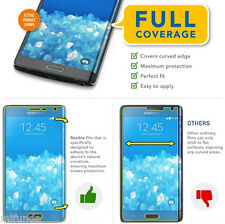 PARA SAMSUNG GALAXY NOTE EDGE PROTECTOR DE PANTALLA TOTAL FULL SCREEN PROTECTOR