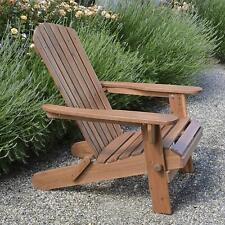 Adirondack Chair Outdoor Garden Folding Hardwood Wooden Pool Seat Plant Theatre