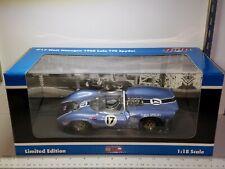 1/18 GMP #17 1965 LOLA T70 SPYDER WALT HANSGEN CAN AM BLUE