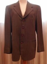 VERSACE INSTANTE VERY ELEGANT 100% MENS WOOL SUIT , MINT CONDITION