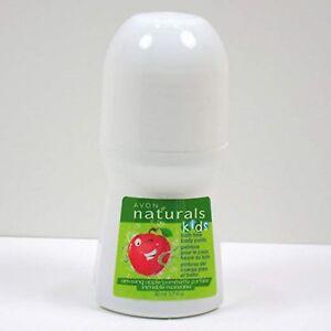"AVON NATURALS KIDS ""Amazing Apple"" Bath Time Body Paint 1.7oz. Green Fun!"