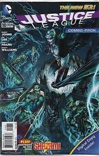DC COMICS JUSTICE LEAGUE #10 AUGUST 2012 NEW 52 COMBO PACK 1ST PRINT NM