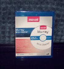 MAXELL MAXLINK LENS CLEANER BLU-RAY ALSO FOR HD DVD PLAYERS, XBOX, PLAYSTATION