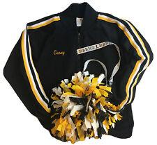 New listing Cheerleading Girls Sz Medium Coed Cheerleader & Danz Team Uniform Zip Up Jacket