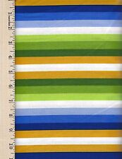 WILD CHILD SASSY STRIPE FREE SPIRIT  100% Cotton Fabric priced by the 1/2 yard