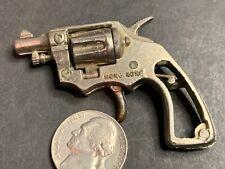 Miniature Toy Diecast Revolver, Pistol, Cap Gun, Hong Kong,  #16
