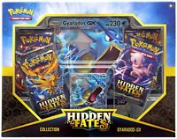 Pokemon Hidden Fates Gyarados GX Collection Box Factory SEALED! FREE SHIPPING