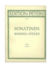 32 Sonatinas Rondos Pieces Clementi Dussek Kuhlau Band I Ed Peters Piano Book S9