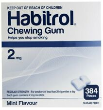 Habitrol Nicotine Gum 2 mg Mint Flavor 384 Pieces Bulk Box