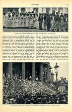 Schiller-Fête de Vienne écoliers en costume Chant de Berlin les écoliers de 1905