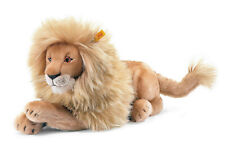 STEIFF® 064135 - Leo Löwe liegend Teddybär Knopf im Ohr 45 cm