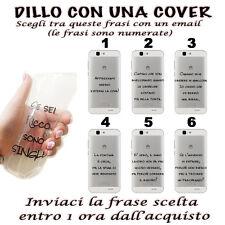 COVER IN GEL CON LA TUA FRASE PREFERITA PER SMARTPHONE HUAWEI ASCEND G7
