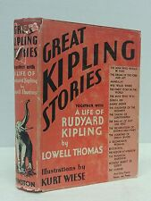 Great Kipling stories(illus Kurt Wiese)1936 Together with a life of Rudyard Ki..