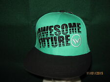 "Shaun White Cap (NEW) Green ""#AWESOME FUTURE"" Snap-Back ONE SIZE"
